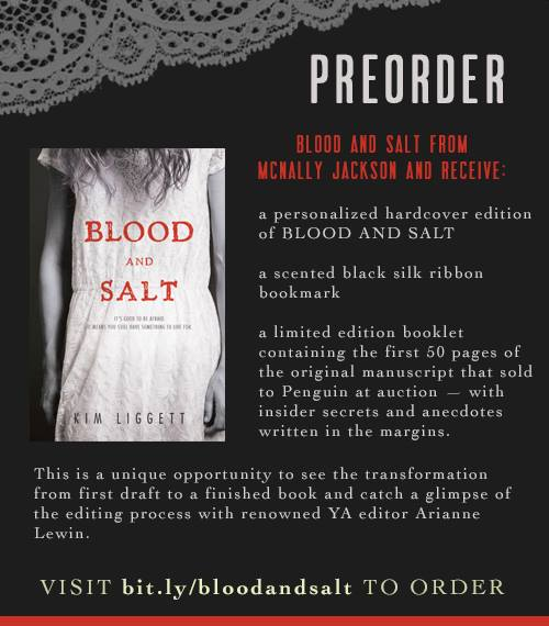 blood and salt preorder